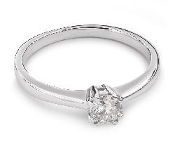 """Помолвочное кольцо с Бриллиантом """"Прочность 55"""""""