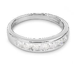 """Помолвочное кольцо с Бриллиантами """"Алмазная полоска 34"""""""
