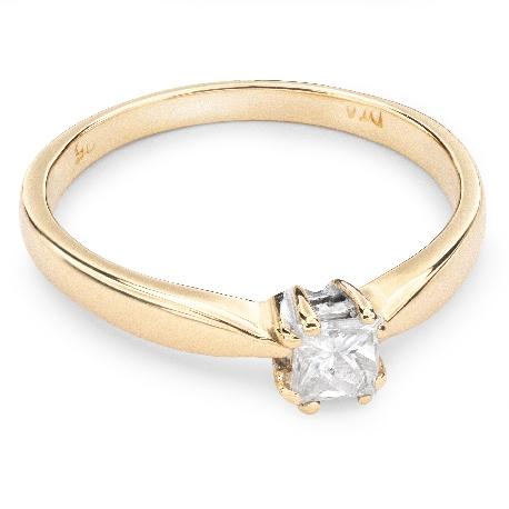"""Помолвочное кольцо с Aлмазом """"Прочность 56"""""""