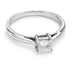 """Saderināšanās gredzens ar Dimantu """"Princese 23"""""""