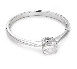 """Помолвочное кольцо с Бриллиантом """"Прочность 57"""""""