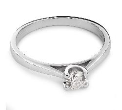 """Помолвочное кольцо с Бриллиантом """"Богиня 46"""""""