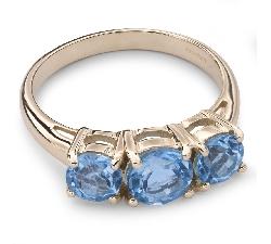 """Zelta gredzens ar dārgakmeņiem """"Krāsas 28"""""""