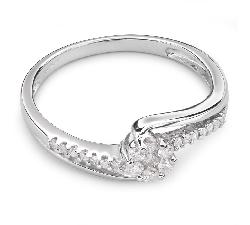 """Помолвочное кольцо с Бриллиантами  """"Бриллиантовый цветок 22"""""""