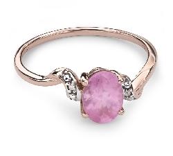 """Zelta gredzens ar dārgakmeņiem """"Krāsas 31"""""""