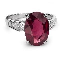 """Золотое кольцо с драгоценными камнями """"Краски 20"""""""