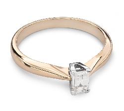 """Помолвочное кольцо с Aлмазом """"Элегантность 9"""""""