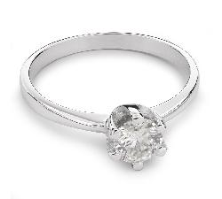 """Помолвочное кольцо с Бриллиантом """"Незабываемый 10"""""""