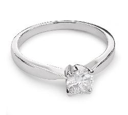 """Помолвочное кольцо с Aлмазом """"Элегантность 2"""""""