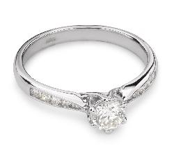 """Помолвочное кольцо с Бриллиантами """"Грациозность 65"""""""