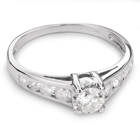"""Помолвочное кольцо с Бриллиантами """"Грациозность 68"""""""
