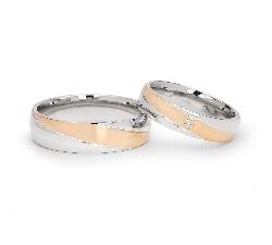 """Laulību gredzeni ar dimantiem """"VKA 099"""""""