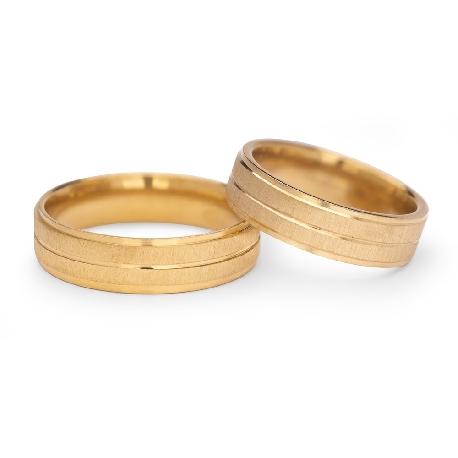 "Zelta laulību gredzeni ""VM123"""