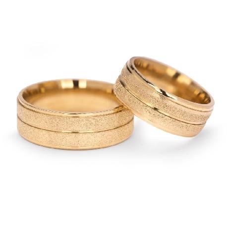 "Zelta laulību gredzeni ""VKA 308"""