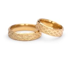 "Zelta laulību gredzeni ""VKA 307"""