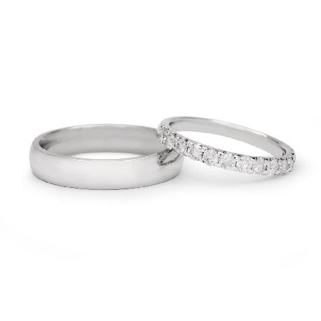 """Laulību gredzeni ar dimantiem """"VKA 138"""""""