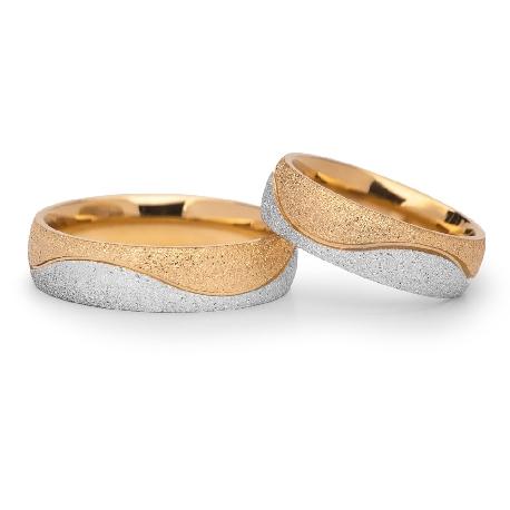 "Zelta laulību gredzeni ""VKA 304"""