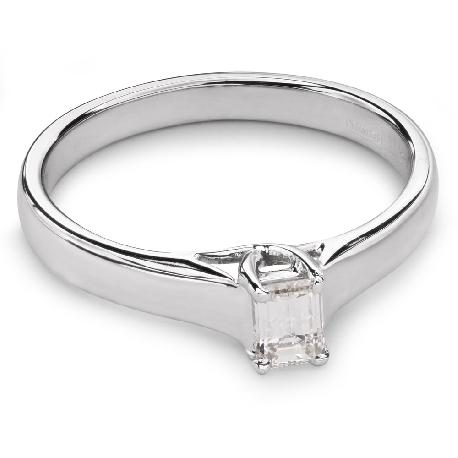 """Помолвочное кольцо с Aлмазом """"Прочность 63"""""""