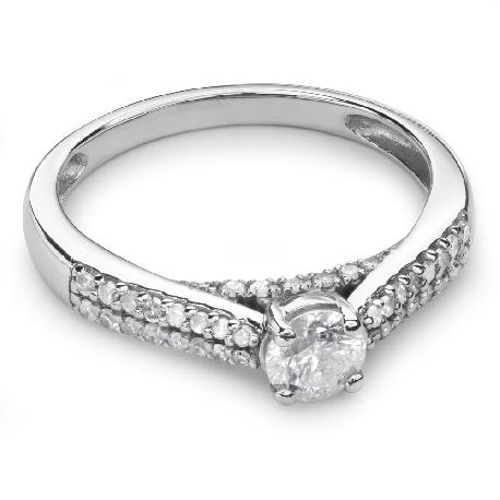 """Помолвочное кольцо с Бриллиантами """"Грациозность 69"""""""