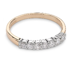 "Zelta gredzens ar Briljantiem ""Dimanta jostīte 29"""