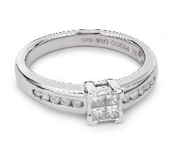 """Помолвочное кольцо с Aлмазами """"Принцессы 39"""""""