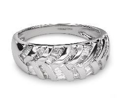 """Золотое кольцо с Aлмазами """"В объятиях любви 15"""""""
