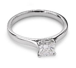 """Помолвочное кольцо с Aлмазом """"Принцесса 27"""""""