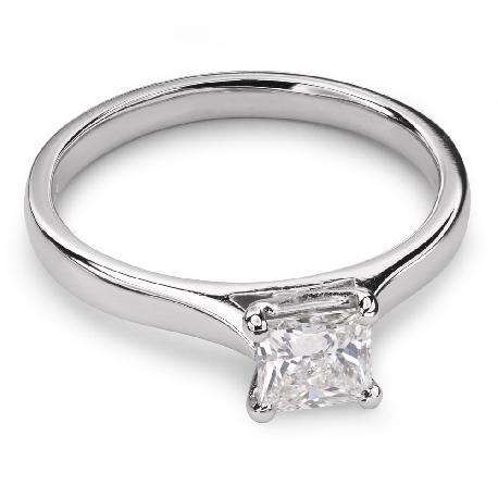 """Saderināšanās gredzens ar Dimantu """"Princese 27"""""""