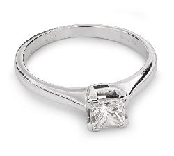 """Saderināšanās gredzens ar Dimantu """"Princese 29"""""""