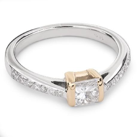 """Saderināšanās gredzens ar Dimantiem """"Princese 31"""""""