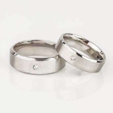 """Laulību gredzeni ar dimantiem """"VMA 117"""""""