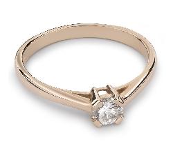 """Помолвочное кольцо с Aлмазом """"Прочность 66"""""""