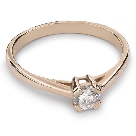 """Saderināšanās gredzens ar Dimantu """"Stiprums 66"""""""