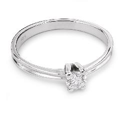 """Zelta gredzens ar Dimantu """"Sapītie likteņi 24"""""""