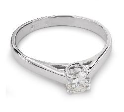 """Zelta gredzens ar Briljantu """"Sapītie likteņi 25"""""""