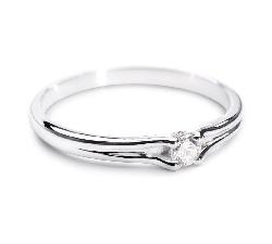 """Помолвочное кольцо с Бриллиантом """"Хрупкая 11"""""""