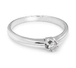 """Помолвочное кольцо с Бриллиантом """"Принцесса 17"""""""