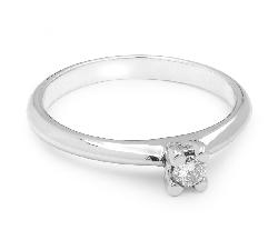 """Помолвочное кольцо с Бриллиантом """"Богиня 61"""""""
