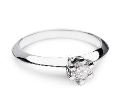 """Помолвочное кольцо с Бриллиантом """"Принцесса 18"""""""
