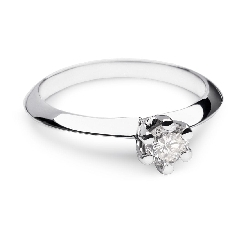 """Помолвочное кольцо с Бриллиантом """"Принцесса 19"""""""