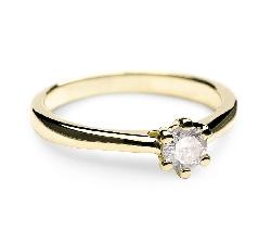 """Saderināšanās gredzens ar Briljantu """"Sirds karaliene 20"""""""
