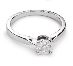 """Помолвочное кольцо с Бриллиантами """"Возлюбленный 46"""""""