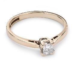 """Помолвочное кольцо с Aлмазом """"Принцесса 34"""""""