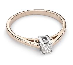 """Помолвочное кольцо с Aлмазом """"Принцесса 36"""""""