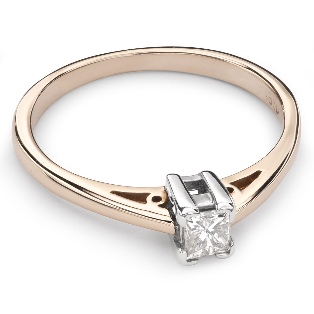 """Saderināšanās gredzens ar Dimantu """"Princese 36"""""""