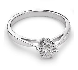 """Помолвочное кольцо с Бриллиантом """"Возлюбленный 26"""""""