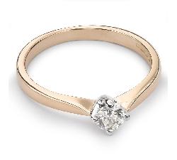 """Помолвочное кольцо с Бриллиантом """"Принцесса 22"""""""