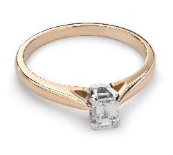 """Помолвочное кольцо с Aлмазом """"Прочность 76"""""""