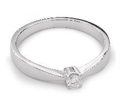 """Помолвочное кольцо с Бриллиантом """"Элегантность 11"""""""