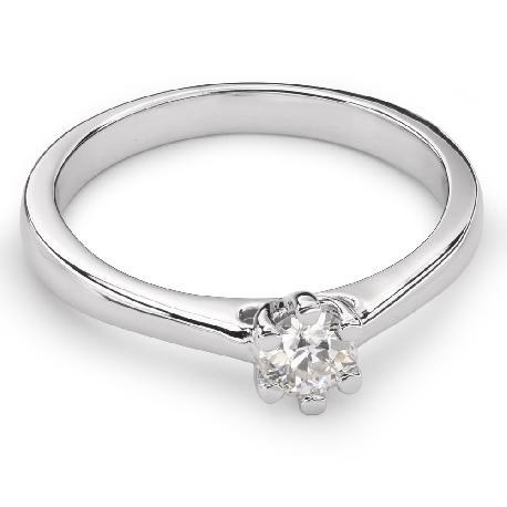 """Saderināšanās gredzens ar Briljantu """"Sirds karaliene 21"""""""